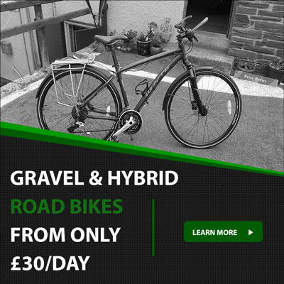 Gravel hybrid road bike