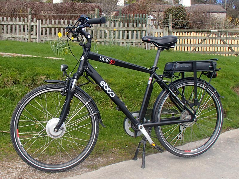 EBCO Electric City Bike, cross bar M/L