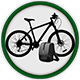 Beics Betws Bike and gear hire logo