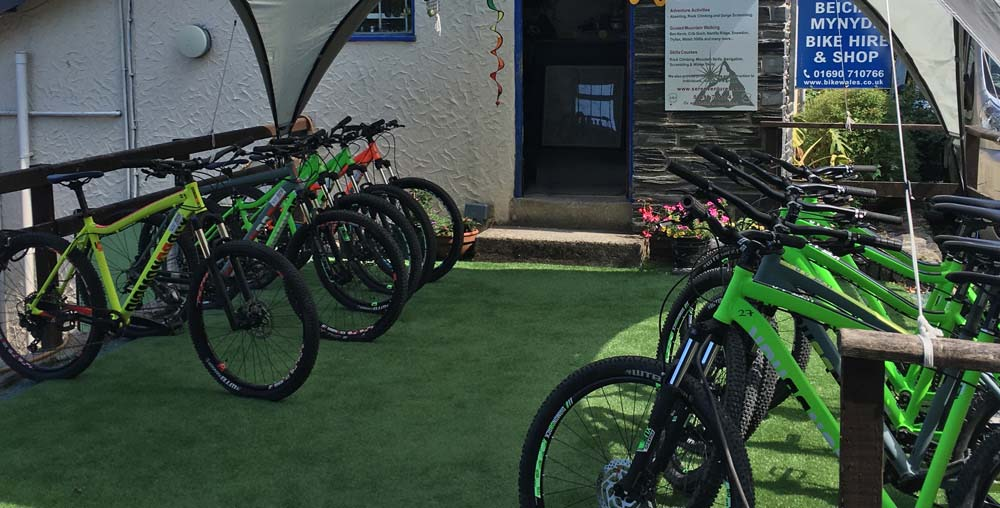 mountain bike hire North Wales