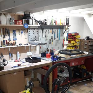 MTB Bike workshop repair